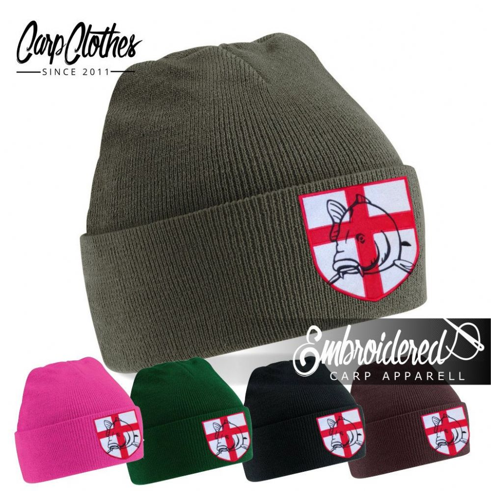 021 EMBROIDERED CARP BEANIE